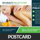 Spa Wellness Center Postcard Template - GraphicRiver Item for Sale