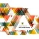Triangle Geometric Abstract Background - GraphicRiver Item for Sale