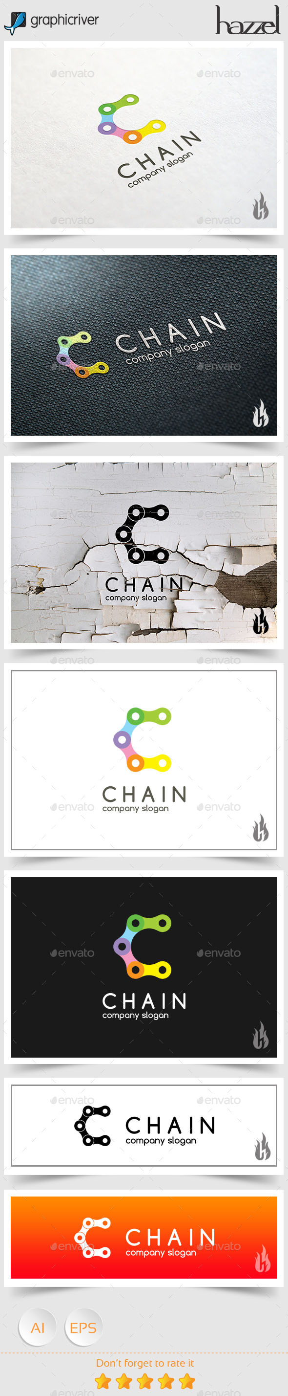 GraphicRiver Chain Logo 9088413