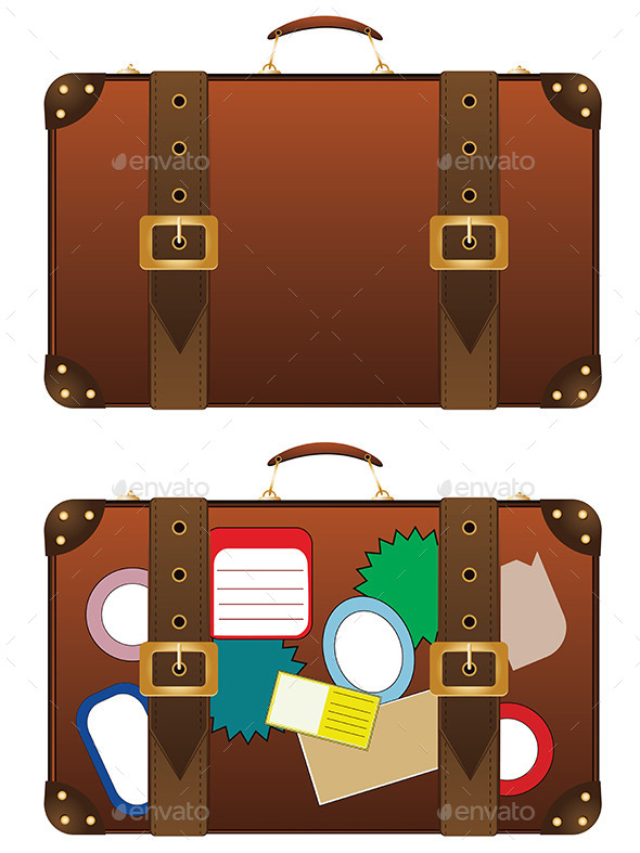 GraphicRiver Traveling Suitcase 9088466