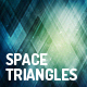 Space Triangles Backgrounds - GraphicRiver Item for Sale