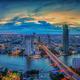 Landscape of River in Bangkok city - PhotoDune Item for Sale