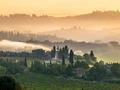 Tuscany Village Landscape on a Summer Morning - PhotoDune Item for Sale