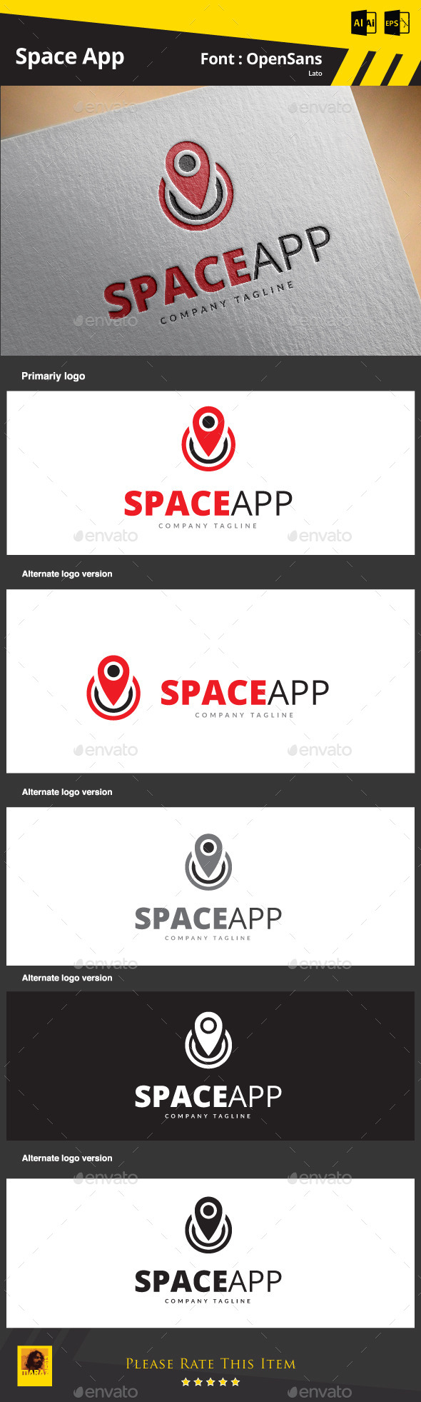 GraphicRiver Space App 9089063
