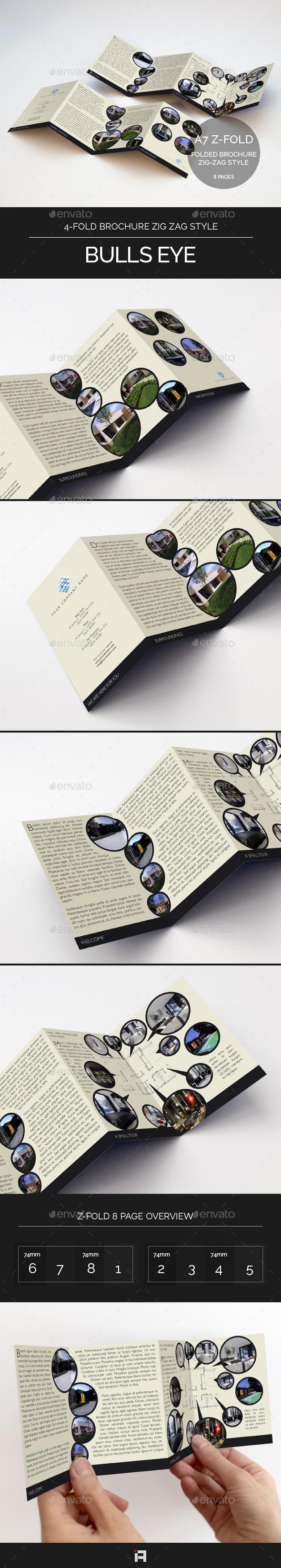 4-Fold Brochure • Bulls Eye - Corporate Brochures