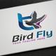 Bird Fly Logo - GraphicRiver Item for Sale