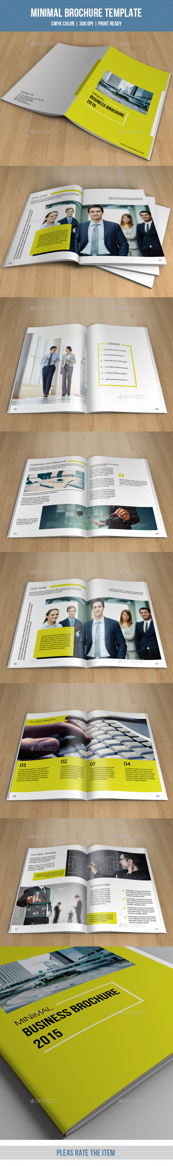 GraphicRiver Bifold Business Brochure-V142 9089105