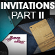 Invitations (4 styles)  PART 2 - GraphicRiver Item for Sale