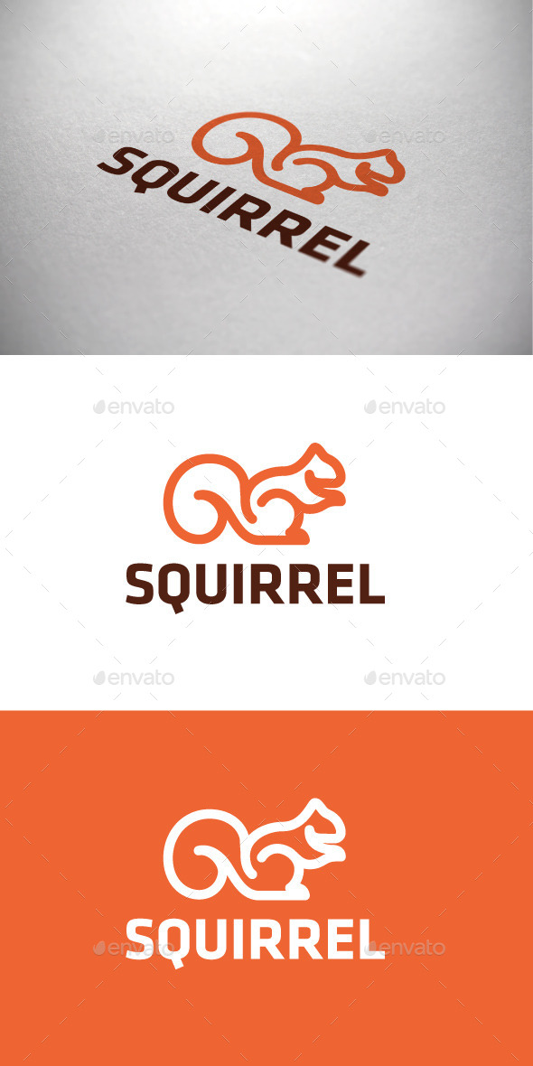 GraphicRiver Squirrel Logotype 9089262