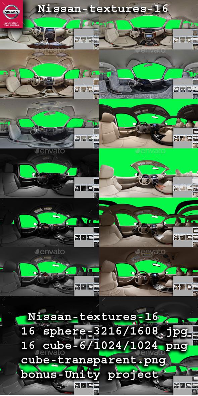 3DOcean Nissan textures 360 9089478