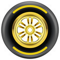 race wheel and tire symbol - PhotoDune Item for Sale