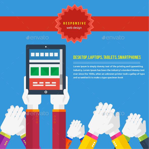 GraphicRiver Responsive Web Design Concept 9031889