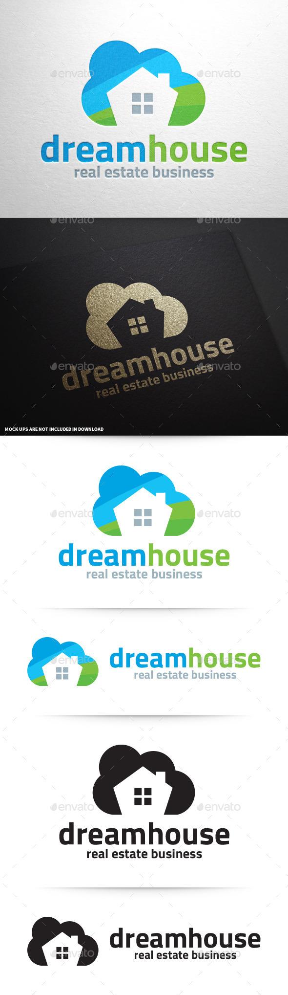 GraphicRiver Dream House Logo Template 9089769