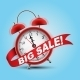 Red Alarm Clock - GraphicRiver Item for Sale