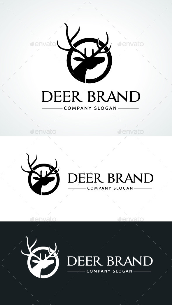 GraphicRiver Deer Brand 9089835