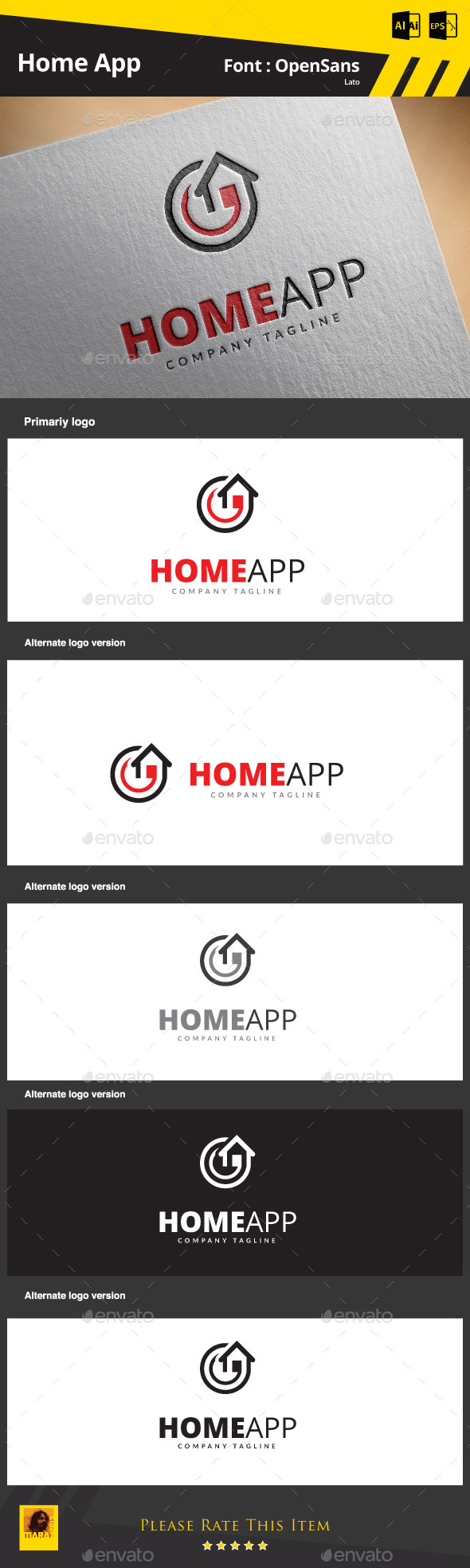 GraphicRiver Home App 9090088