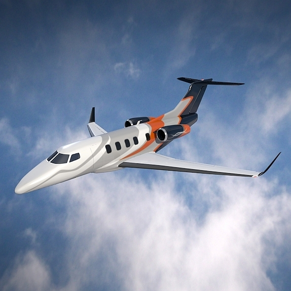 3DOcean Embraer Phenom 300 corporate jet 9090139