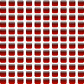 red abstract seamless mosaic background - PhotoDune Item for Sale
