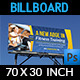 Fitness GYM Billboard Template - GraphicRiver Item for Sale