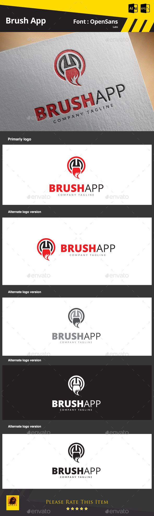 GraphicRiver Brush App 9090858