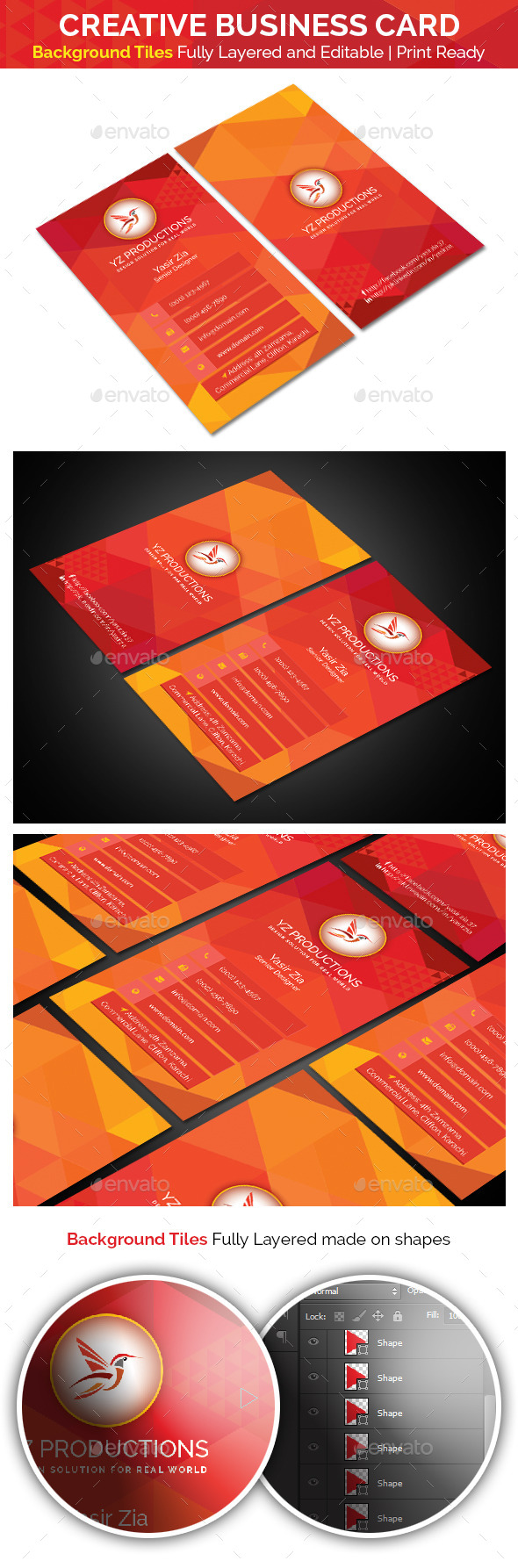 GraphicRiver Creative Business Card V-2.0 9091041