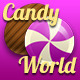 Candy World - Match 3 Game - Kits and GUI Assets - GraphicRiver Item for Sale