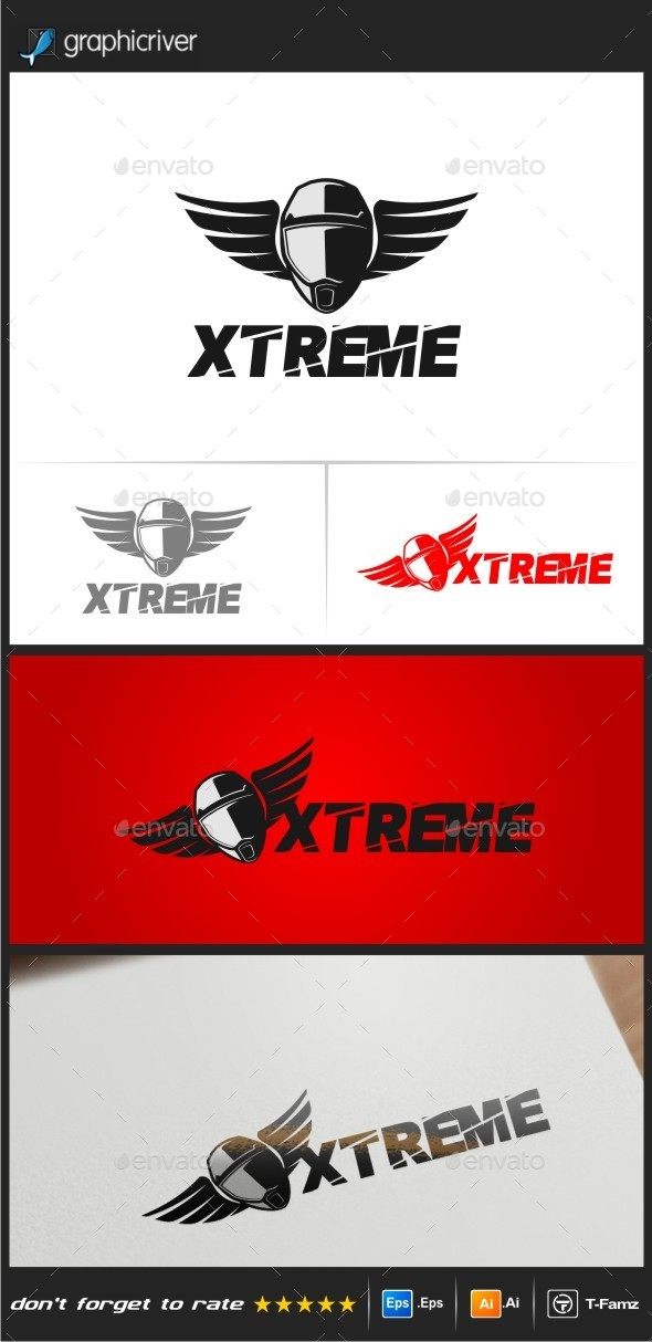 GraphicRiver Extreme Logo Templates 9091451