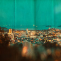 vintage style picture of Phuket Town city - PhotoDune Item for Sale