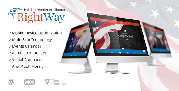 ThemeForest Right Way Political WordPress Theme 9091481