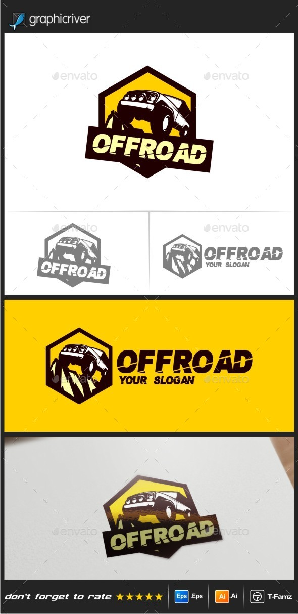 GraphicRiver Off Road Logo Templates 9091483