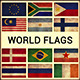 World Flags Grunge and Retro (Part 3) - GraphicRiver Item for Sale