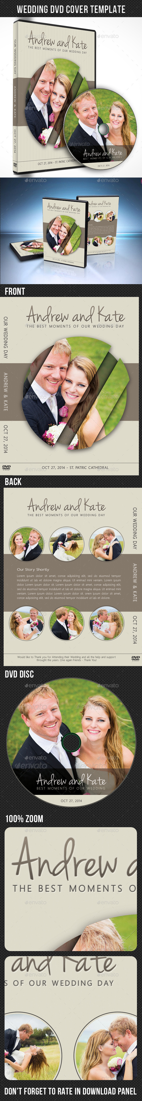 GraphicRiver Wedding DVD Cover Template 07 9092010