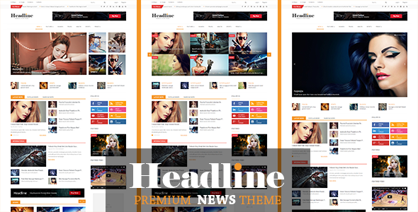 ThemeForest Headline Responsive Joomla News Magazine Blog 9058287