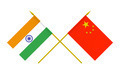 Flags of China and India, 3d Render, Isolated - PhotoDune Item for Sale