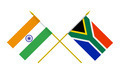 Flags of India and South Africa, 3d Render, Isolated - PhotoDune Item for Sale