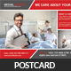 Medical Doctors Postcard Template - GraphicRiver Item for Sale