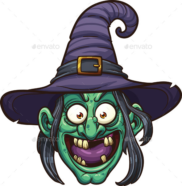 GraphicRiver Witch Face 9093369