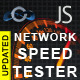 JavaScript Network Speed Tester - CodeCanyon Item for Sale