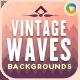 Vintage Wave Backgrounds - GraphicRiver Item for Sale