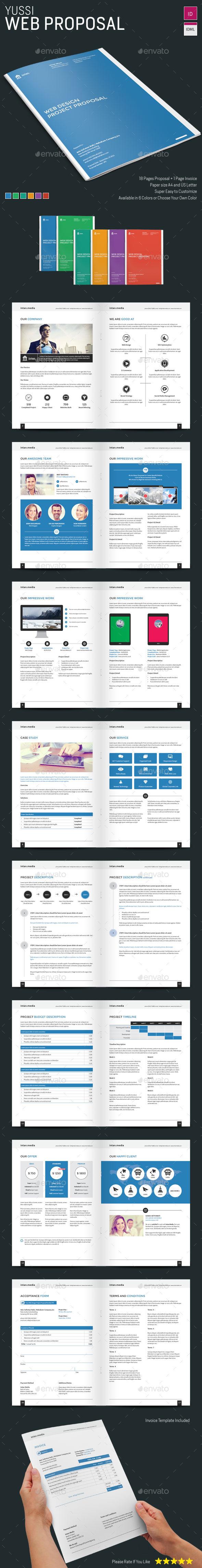 GraphicRiver Web Proposal 9093435