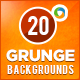20 Grunge Backgrounds - GraphicRiver Item for Sale