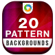 20 Pattern Backgrounds - GraphicRiver Item for Sale