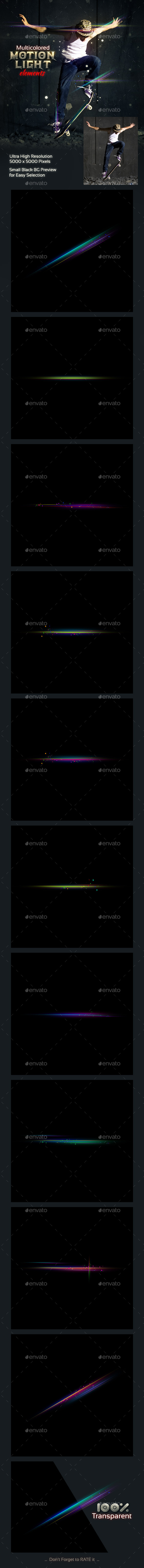GraphicRiver Motion Light Elements 9093942