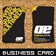 Impact Business Card - GraphicRiver Item for Sale