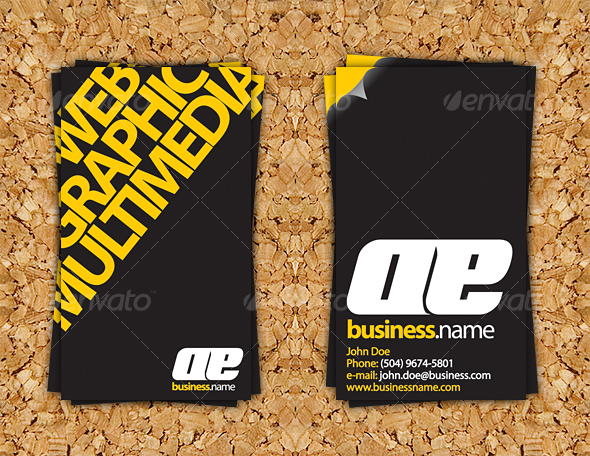 GraphicRiver Impact Business Card 38112