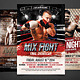 Fight Flyers Bundle - GraphicRiver Item for Sale