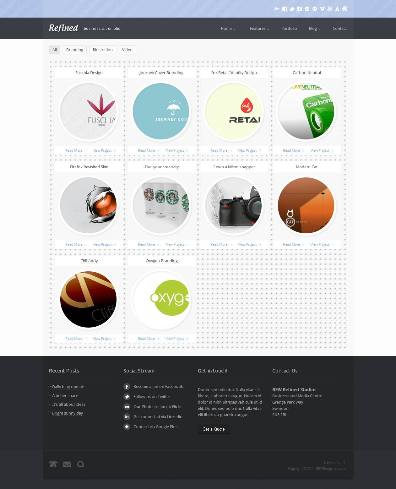 Refined : Business & Portfolio Theme