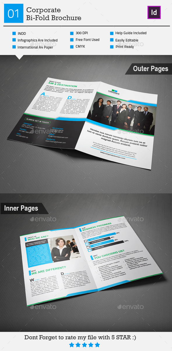 GraphicRiver Corporate Bi-Fold Brochure 01 9094715