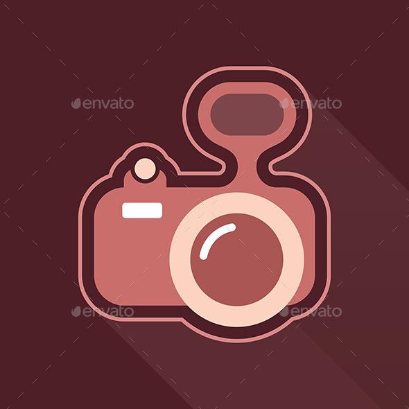 GraphicRiver Camera Vector Icon 9094861