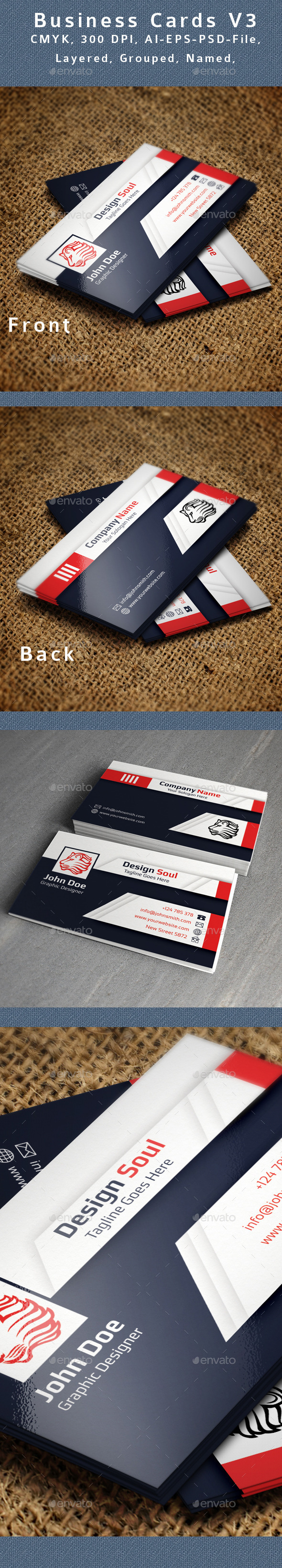 GraphicRiver Creative Business Card V3 9095019
